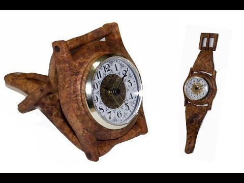 Handmade wooden Wrist Watch | Carl Jacobson
