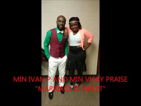 "Min Ivan P and Vicky Praise "" Marriage is Sweet"" Liberian Gospel Music"