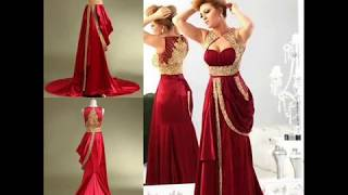New Design Arabic Dubai Muslim Evening Dress