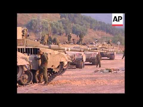 Israeli forces near border prepare to go into Lebanon