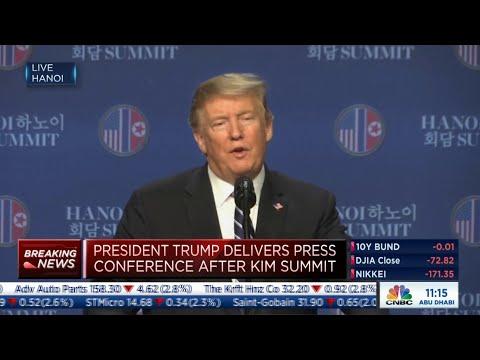 North Korea demanded end to sanctions, Trump says | Trump-Kim Summit Mp3