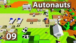 Autonauts | Viehtransporte ► #9 ► Lets Play Roboter Simulator deutsch german