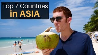 Top 7 Countries in Asia!