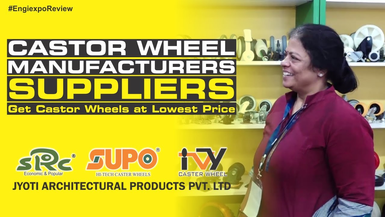 Top Castor Wheel Manufacturer and Suppliers in India – (Get Castor Wheels at Lowest Price)