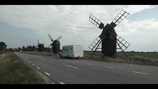Schweden Öland Mühlen von Lerkaka