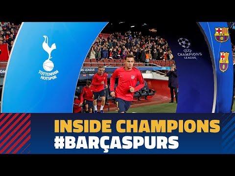 BARÇA 1-1 TOTTENHAM | Inside Champions
