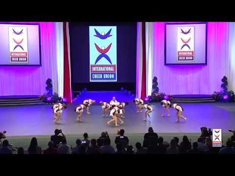 USA National Team [Team Cheer Freestyle Pom]  - 2015 ICU World Cheerleading Championships