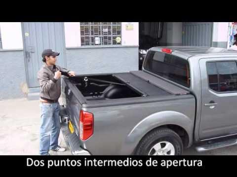 Ford F150 2010 >> TAPA ENROLLABLE ROLL N´ LOCK - Disponible en AutoPlast. Bogotá - Colombia - YouTube