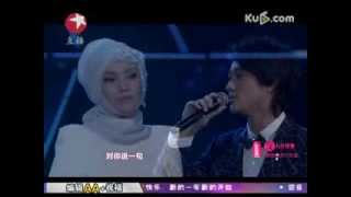Shila Amzah & James - Haojiu Bujian (好久不见) Shanghai Dragon TV