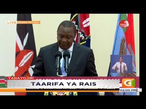 President Uhuru Kenyatta Reduces VAT On Fuel