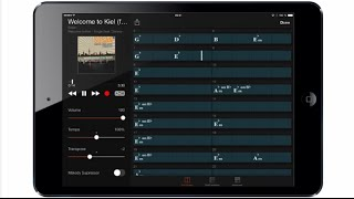 Features and Function of Yamaha Chord Tracker app