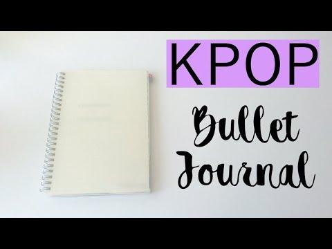 MY VERY FIRST KPOP BULLET JOURNAL
