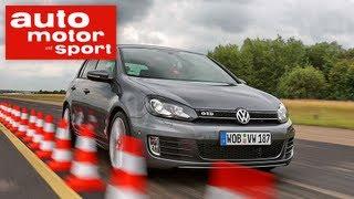 Test VW Golf GTI vs. GTD (auto motor und sport TV)