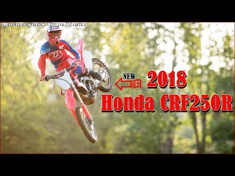 New Releases - Honda CRF250R 2018 Details