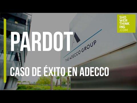 Caso de éxito de Adecco sobre Pardot | ShowerThinking