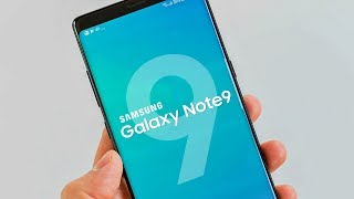 Samsung Galaxy Note 9 Official Poster and Price Information