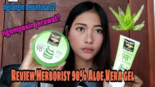 Review Herborist Aloe Vera Gel 98% 7 Day Recomended??!!