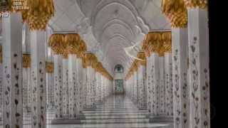 Достопримечательности. Мечеть шейха Зайда.  ОАЭ.(Мечеть шейха Зайда - архитектурный шедевр, шестая по величине мечеть в мире. Посвящена она основателю и..., 2014-10-05T13:37:23.000Z)