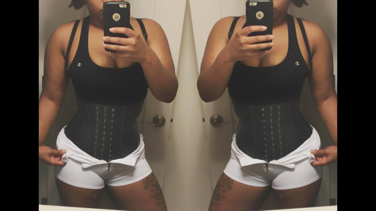 3a1c3a6a6e4 Amazon.com Ann Darling Waist Trainer Review! - YouTube