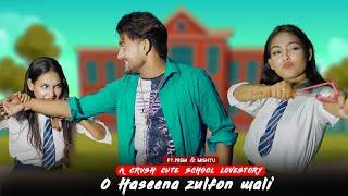 O Haseena Zulfon Waali Jaane Jahan|TuruLove Cute Crush School Lovestory |ft.Prem |Rafi|PK Production