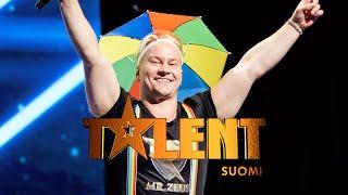 Mr. Zeus on Talent Suomen paras pukeutuja! | Talent Suomi | MTV3