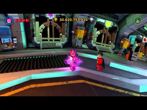 LEGO Batman 3  Beyond Gotham all lantern corps characters abilities and moves