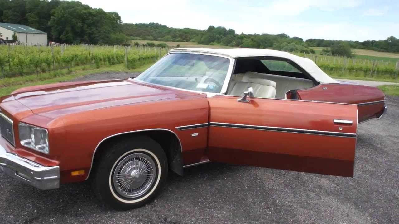Sold 1975 Caprice Classic Convertible For Sale 37 841