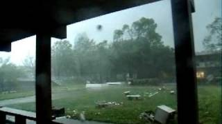 shaw university tornado raw footage