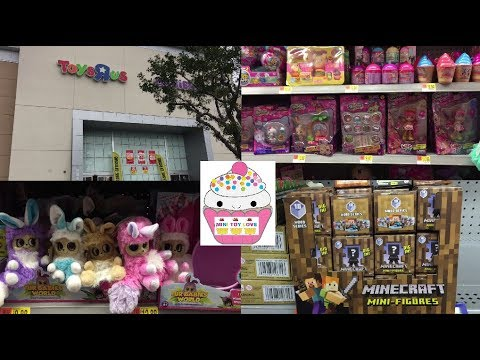 Toy Hunt 126 Fur Babies World Pikmi Pops Minecraft Toys R Us Going out of Business Sale