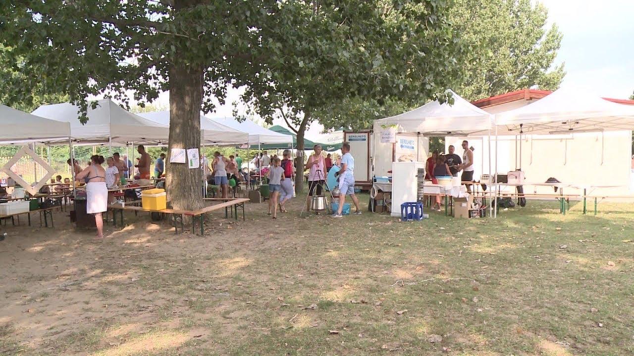 Vetélkedők és strand party a Mezőföldvíz Kft. családi napján