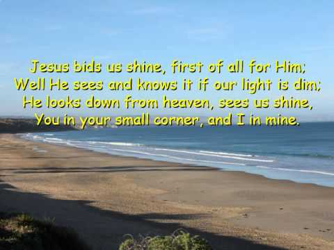 Jesus Bids us Shine-Piano-E O Excell-Christopher Tan
