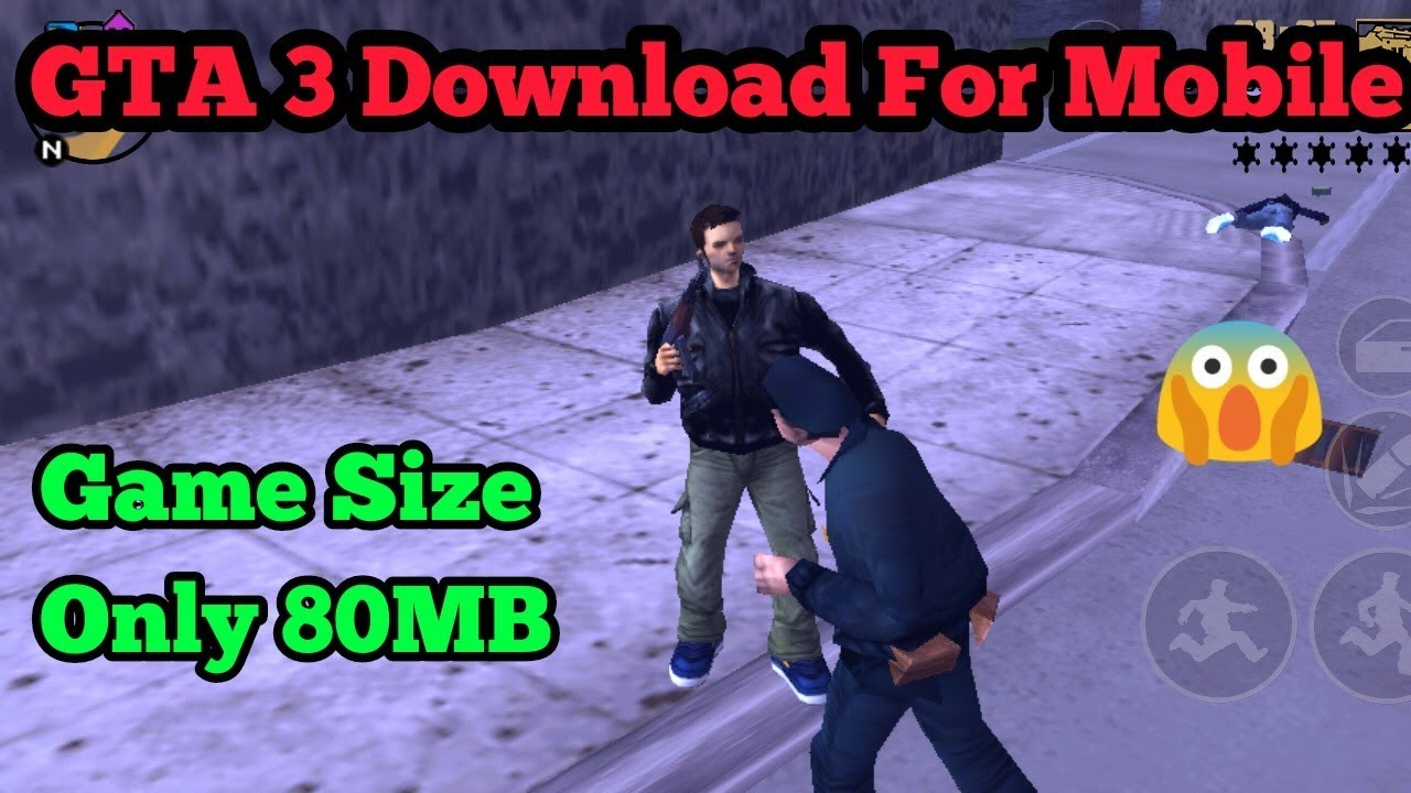 How to download & install gta 3 game on android for free (hindi.