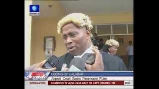 Gambar cover Appeal Court Sacks Obong of Calabar