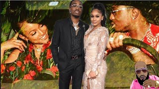 Quavo And Karreuche Tran Caught Creeping On Their Mates Saweetie And Victor Cruz?