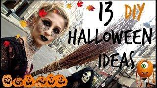 13 DIY Halloween Ideas/Asya Eneva/13 Идеи За Хелоуин - Грим и Визии/Ася Енева