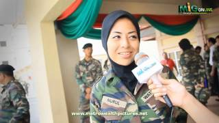 Dato Siti Nurhaliza dan Artis di Sekitar Majlis Tamat Latihan Wataniah