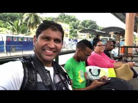 Central Bus Terminal at Victoria Mahe Seychelles