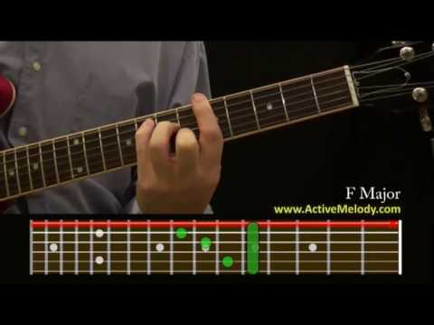 How To Play an F Chord On The Guitar (F Major) - YouTube