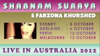 SHABNAM SURAYA & FARZONA KHURSHED CONCERT PROMO