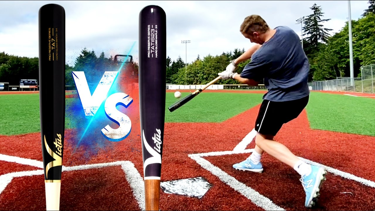 Victus TA7 Birch vs the Tatis23 Maple - Battle for the best Victus - Wood Baseball Bat Reviews