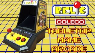Relic - Coleco Pac-man Tabletop Arcade Mame Conversion Using Pimame Raspberry Pi