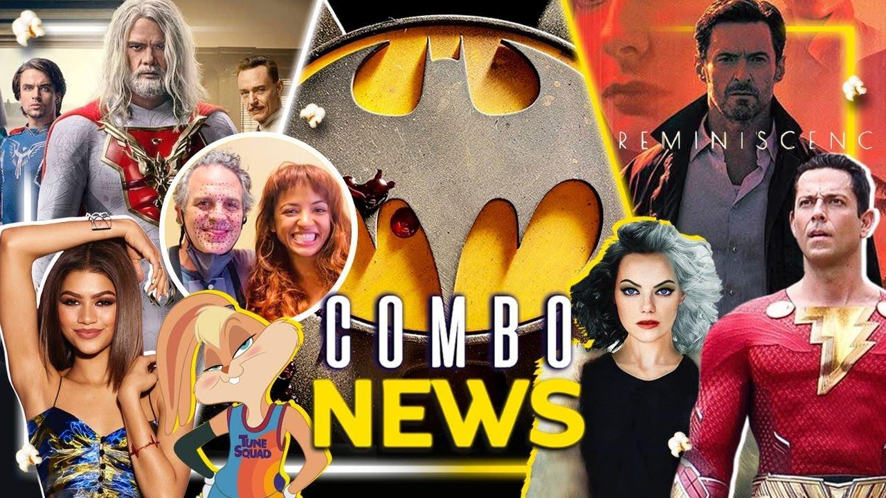 Batman loco, Cruella2, LolaBunny polémica, SheHulk, nuevo traje Shazam y más #ComboNews