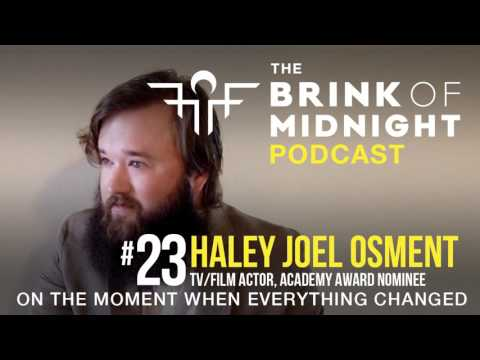 #23: HALEY JOEL OSMENT, TV/Film Actor, Academy Award Nominee