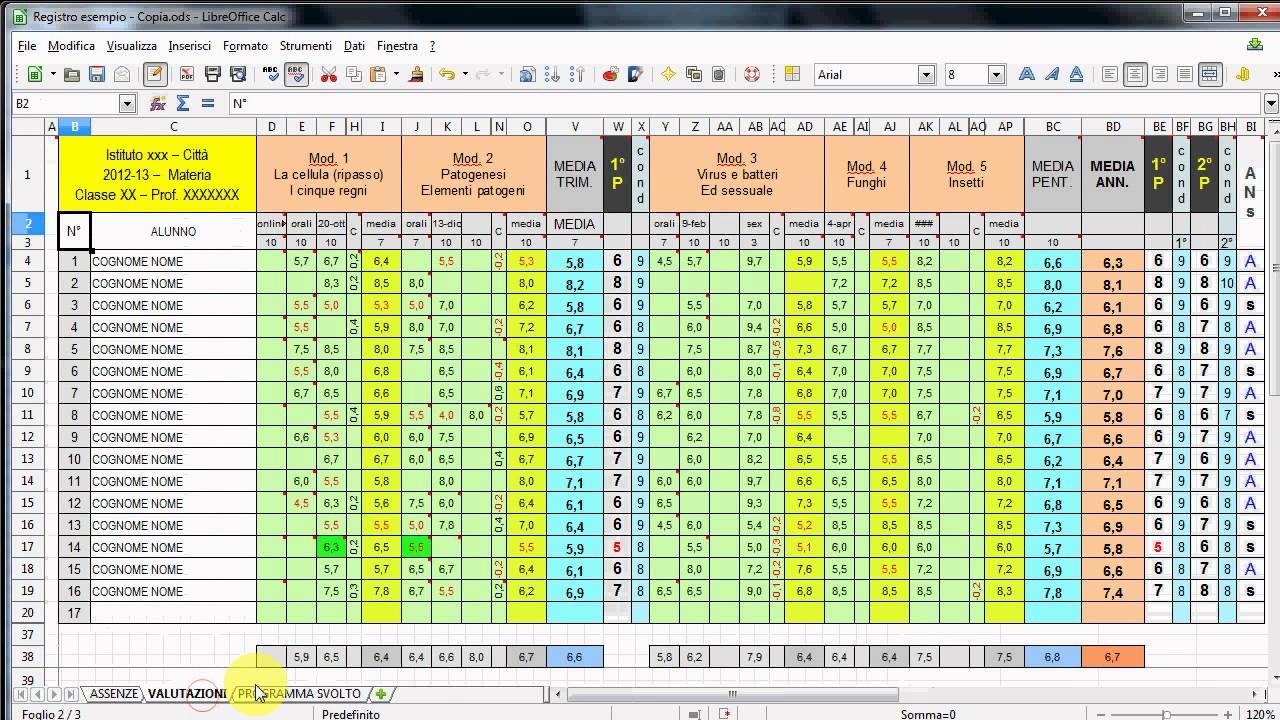 Gestione Orario di Lavoro con Excel