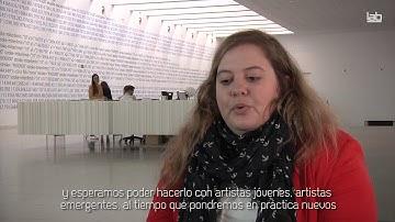 Veronika Liebl, representante de Ars Electronica (Austria). ENCAC
