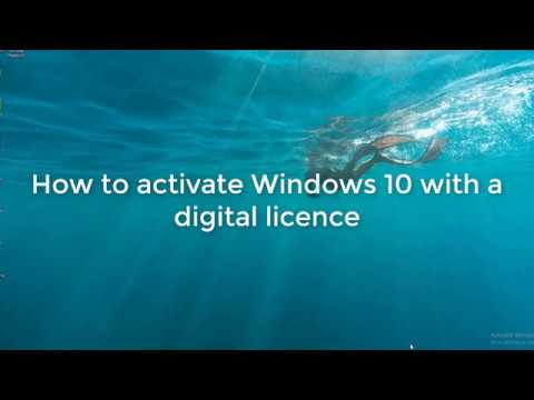 Activate windows 10 with digital licence youtube activate windows 10 with digital licence ccuart Image collections