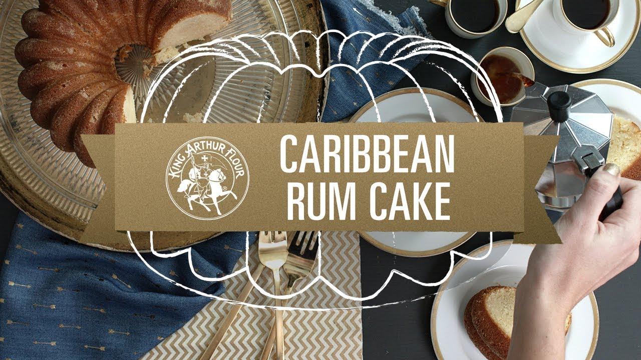 Caribbean Rum Cake Recipe King Arthur Flour: King Arthur Flour - YouTube