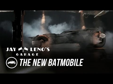 Jay Leno Introduces The New Batmobile - Jay Leno's Garage