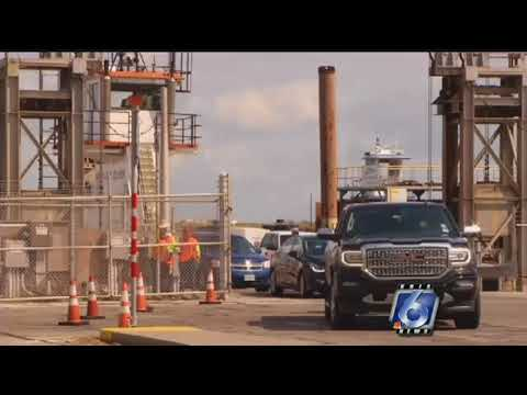 Port Aransas ferry resumes services after oil spill clean-up