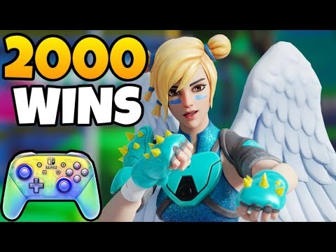 Pro Nintendo Switch Player   2000+ Wins On Controller   Fortnite Battle Royale